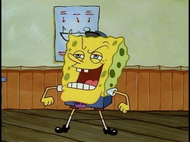 File:Spongebob As The Hall Monitor.jpg