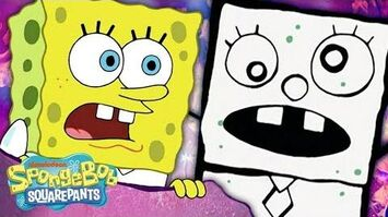 DOODLE BOB Stars in FrankenDoodle ✏️ in 5 Minutes! SpongeBob