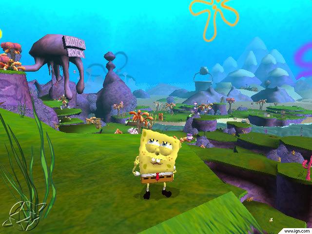 Spongebob fight for bikini