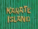 Karate Island title card