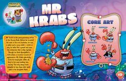 Mr Krabs character bio