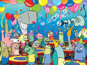 SpongeBob-friends-characters-party