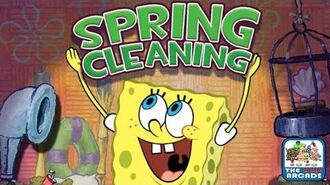 SpongeBob SquarePants- Spring Cleaning - Spring is Here! Time to Clean! (Nickelodeon Games)
