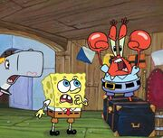 SpongeBob SquarePants - Krabs yelling