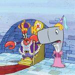 King-Krabs-Princess-Pearl-throne