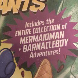 Mermaidman Sticker