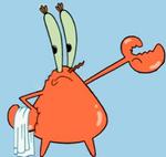 Naked Mr. Krabs