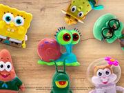 Commercial for Sponge on the Run puppet toys
