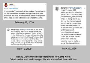 Danny-Giovannini-lied-about-SpongeBob-Kamp-Koral