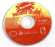 Battle for Volcano Island GC disc