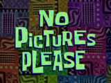 No Pictures Please/gallery