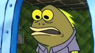 SpongeBob chocolate scene