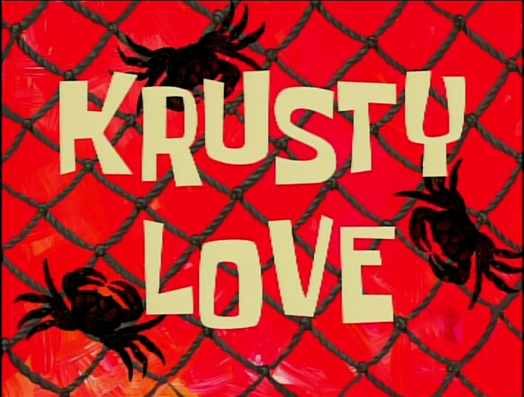 krusty love encyclopedia spongebobia fandom powered by wikia
