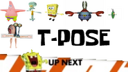 Spongebob Laughing At T-Pose