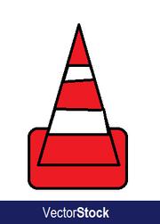VectorStock cone