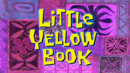 Little Yellow Book title card