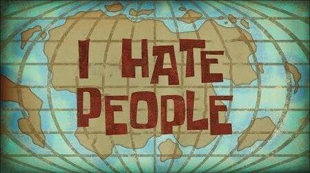 SpongeBob Music I Hate People (Instrumental)
