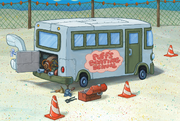 Boating-School-bus-background-art