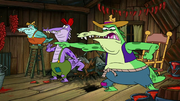 Crocodiles in Swamp Mates