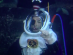 Patchy in a diving suit
