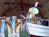 Squidward Tentacles/appearances