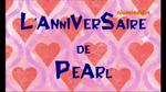 L'Anniversaire de Pearl