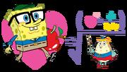 SpongeBob-loves-school