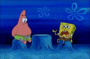 Spongebob crys