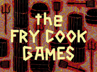 The Fry Cook Games title card