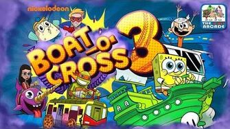 Nickelodeon Boat-O-Cross 3 - Make it to the End without Crashing (Nickelodeon Games)