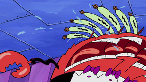 Mr. Krabs weird pause moment in Krusty Katering