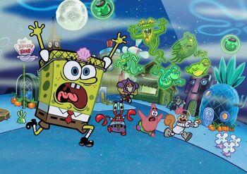 SpongeBob Moves In! Halloween