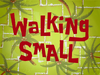 Walking Small title card