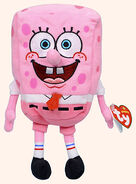 Pinkspongebobplushthing