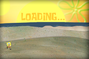 Sand Castle Hassle Loading screen