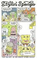 Stylin' Sponge Comic
