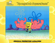 WOW-THE-VERY-BEST-Spongebob-Production-CEL