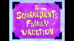 SpongeBob SquarePants Song Above The Road