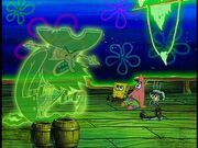 The Flying Dutchman, Spongebob, Patrick, & Squidward Burnt