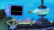 Screenshot Karen and Plankton in Bottle Burglars 2
