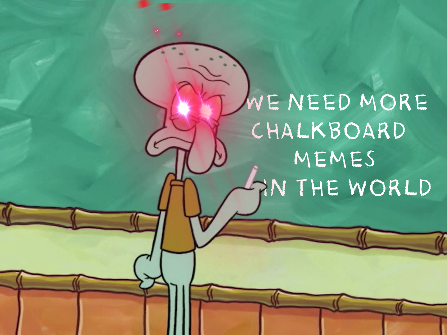 Squidward Writes the Truth