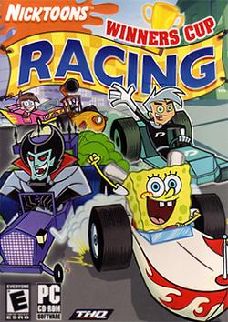 Nicktoons Winners Cup Racing Coverart