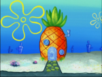 SpongeBob's pineapple house in Season 4-7