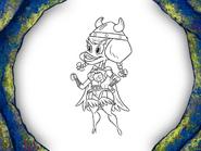 Viking-Sized Adventures Character Art 41