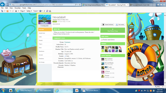 My SBU Page