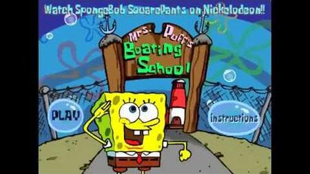 SpongeBob SquarePants Boating School - Full Game