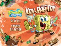 Extreme Kah-Rah-Tay Main Menu