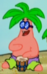 Patrick as a Bongo Player