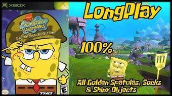 SpongeBob SquarePants Battle for Bikini Bottom - Full Xbox walkthrough