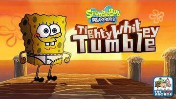 SpongeBob SquarePants Tighty Whitey Tumble - Flight by Underwear (Nickelodeon Games)